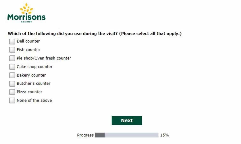 step 3 morrison survey