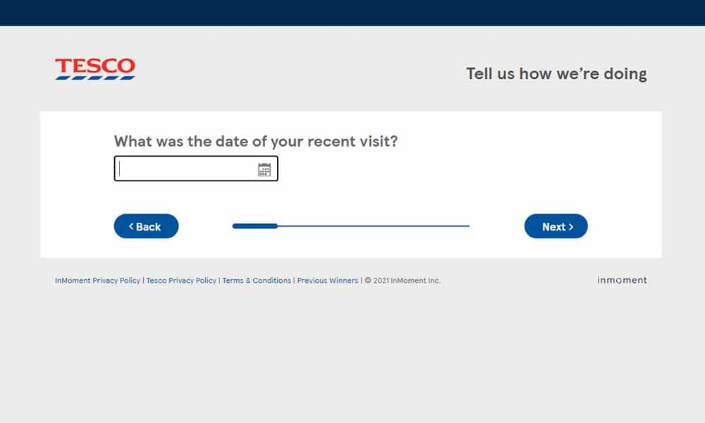 tescoviews.com survey step 4