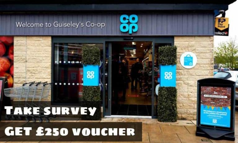 Coop Your Store Your Say Survey @ Coop.co.uk/yoursay