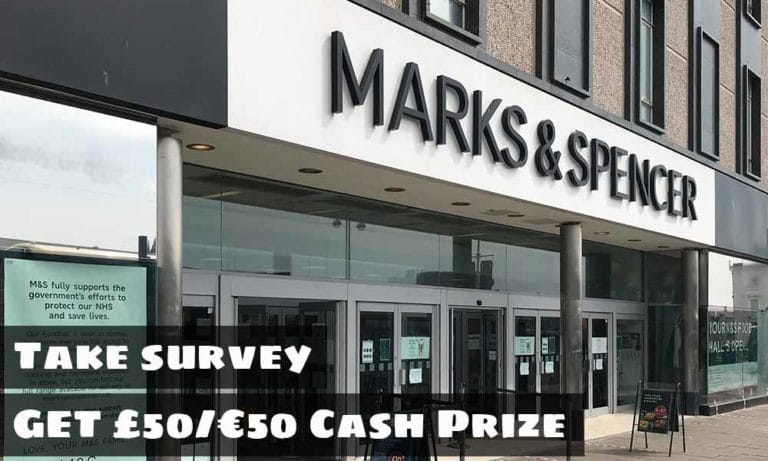 M&S Survey   www.tellmands.co.uk   Marks and Spencer Survey