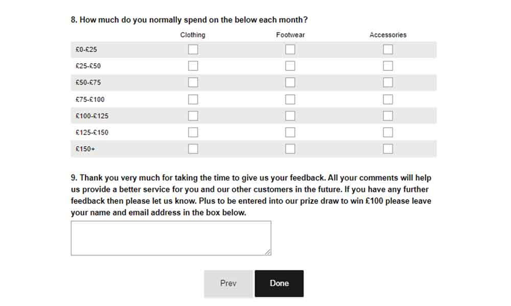 jd feedback survey